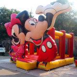 5*4*3.5m дешевое и высокое качество ягнятся смешной замок мыши Mickey скача, оптовая продажа Inflatables хвастуна