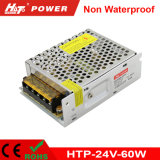 24V 2.5A 60W LEDの変圧器AC/DCの切換えの電源Htp