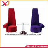 Royal Chaise longue Reine Roi canapé pour mariage/banquet/Hôtel/Restaurant