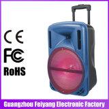 """Beweglicher Laufkatze-Lautsprecher des Plastikshell-12 """" mit USB-statischer Ableiter FM FernBluetooth F12-1"""