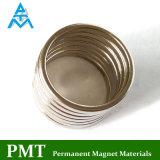 N42 Magneet van NdFeB van de Ring van D25*D23*1.5 de Dunne met Permanent Magnetisch Materiaal