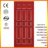 Porta de madeira do painel do projeto simples da fábrica de China