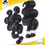 100%のペルーの加工されていない毛の拡張はよい