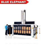 3050 Big Size 4 EJES CNC Router 3D de la máquina de moldeo para la fabricación de moldes