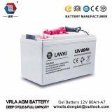 Batería solar barata del gel de la batería 12V 80ah del AGM del precio VRLA
