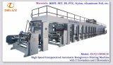 Presse typographique automatique à grande vitesse de gravure de Roto avec 2 dérouleurs et 2 Rewinders (DLYJ-13850C/S)