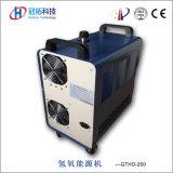 Petit portable Manuel de la machine à polir Hho en acrylique de flamme