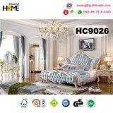 고아한 작풍 나무로 되는 침실 세트/호텔 침실 가구 (9026)