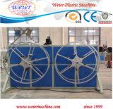 PVC plástico corrugado Single-Wall Línea de extrusión de tubos conduit
