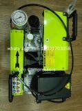 compresor de aire de respiración de la zambullida portable de alta presión del equipo de submarinismo de 300bar/225bar