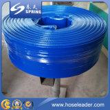 Grand boyau plat d'irrigation étendu par PVC de diamètre de fournisseur