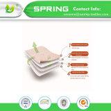Resistente al agua, hipoalergénico y transpirable de protector de colchón y la tapa