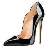 Zapatos planos de goma de las señoras de la manera de los zapatos de los zapatos populares de las mujeres con alta calidad