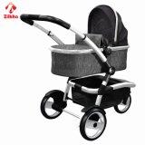 Dreirädriger Kinderwagen mit Sitz + Carrycot