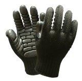 Revêtement latex Anti vibration Impact-Resistant Gants de travail de sécurité mécanique