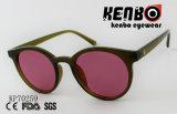 Occhiali da sole di plastica con l'obiettivo puro Kp70259 di colore