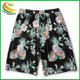 Placa de malha de 4 vias Calções, shorts de Praia Design impresso para o homem