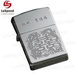 110x110mm 30W máquina de marcado láser de fibra de aluminio anodizado