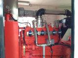 CHP messo in recipienti del biogas