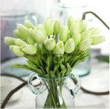 30cm mini PU vraie touche Fleur artificielle de tulipes