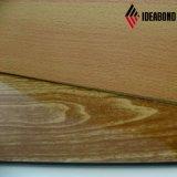 Material compuesto de aluminio de la mirada del granito y de la madera