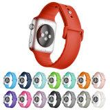 2018 de Riem van het Silicone voor het Horloge van de Appel, voor de Banden van het Silicium van het Horloge van de Appel, voor de Band van het Horloge van de Appel van het Silicone