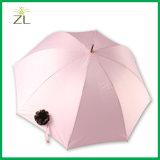 자동차 열려있는 수동 Colsed 똑바른 꽃 분홍색 우산
