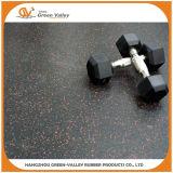 Shock-Reducing резиновые плитки резиновые коврики для спортзал Weightlifting оборудования
