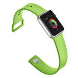 2018 La correa de silicona para Apple ver, para ver bandas de silicio de Apple, Apple de la banda de reloj de silicona