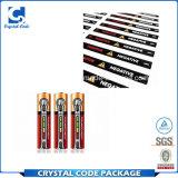 Haltbarer Superqualitätsbatterie-Aufkleber-Kennsatz