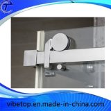 Conetor quadrado de vidro da porta deslizante de aço 304 inoxidável