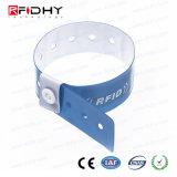 Wristband Ultralight del PVC NFC di alta obbligazione MIFARE (r) per controllo di accesso