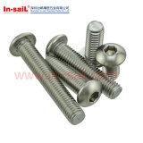 Asme/ANSI Stahlqualitätsmaschinen-Schraube (MCH052) mit Kreuz-Gekerbt
