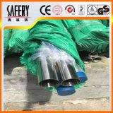 tubulação de aço inoxidável sem emenda de 304L 316L