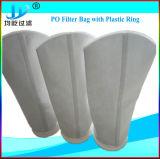 Saco de filtro de líquido em 100% polipropileno Needled sentida a partir de 1 para 200 Mícron