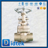 C95800 Didtek plenamente abierta válvula de compuerta Manual de acero fundido