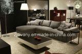 Mobília moderna sala de estar sofá de couro D-72