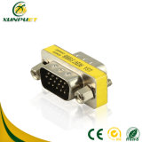 Macho dos dados ao adaptador masculino da potência HDMI do VGA para o portátil