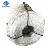 厚く68mmの8繊維の海洋の係留ポリプロピレンの単繊維の大綱ロープ