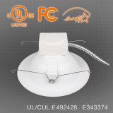 100lm/W 8 pulgadas de la luz LED puede ignífuga con reostato de 0-10V