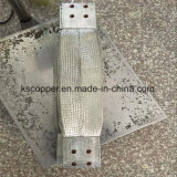 Ks 고품질 4000A 구리 땋는 유연한 연결관