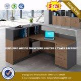 2 sièges forme de L'Office de station de travail du personnel de cluster de partition (HX-8N2620)