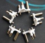 Südafrikanischer grosser 3 Pin-runder Einlage-Stecker für Energien-Kabel