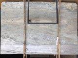 Mattonelle blu delle lastre del marmo della giada