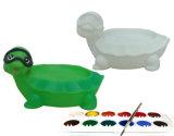 OEM DIY 만화 플라스틱 비누 홀더 상자 접시