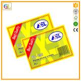 カスタムステッカーの印刷の工場ステッカー(OEM-GL001)