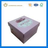 Personalizar la parte superior e inferior de impresión CMYK Cardbaord Jabón de papel caja de embalaje