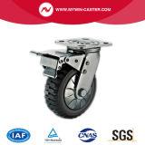 6 Zoll Hochleistungs-PU-Laufkatze-Fußrolle