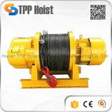 Alzamiento eléctrico de la cuerda de alambre para levantar