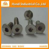 Estruendo principal avellanado socket Hex 7991 de los tornillos del acero inoxidable